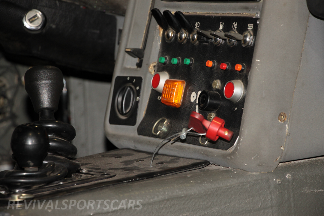Race Retro 2014 Classic Motorsport Ford RS200 rally car centre switches