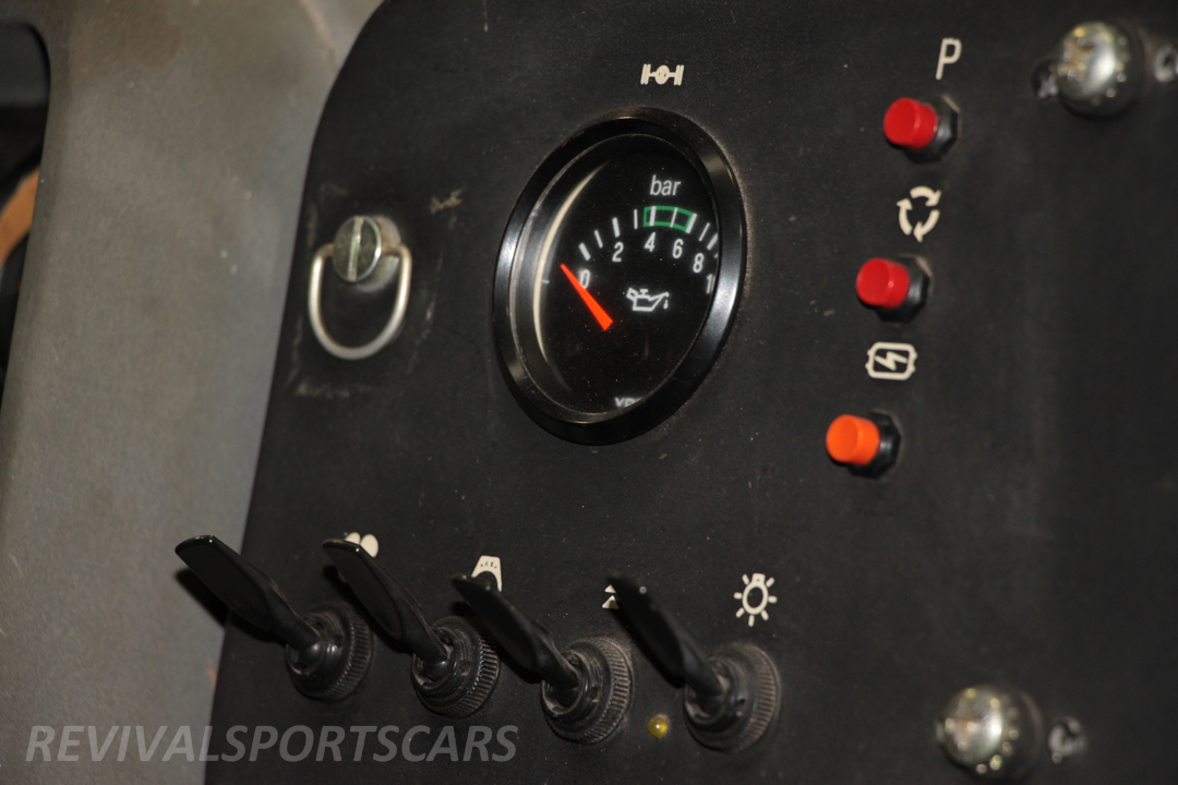 Race Retro 2014 Classic Motorsport Ford RS200 rally car toggle switches