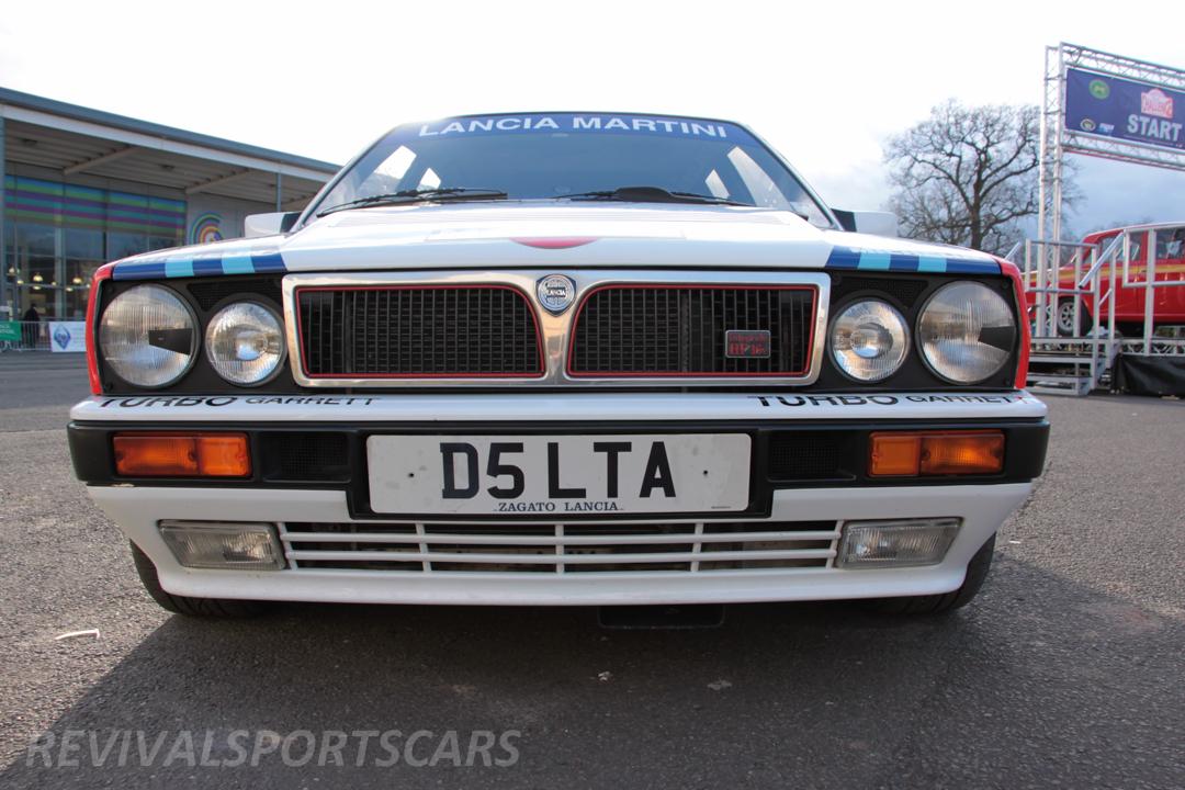 Race Retro 2014 Classic Motorsport Lancia Delta Integrale