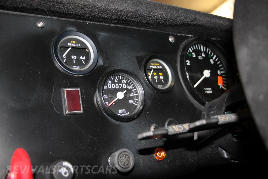 Race Retro 2014 Classic Motorsport Lancia Stratos Race car dials