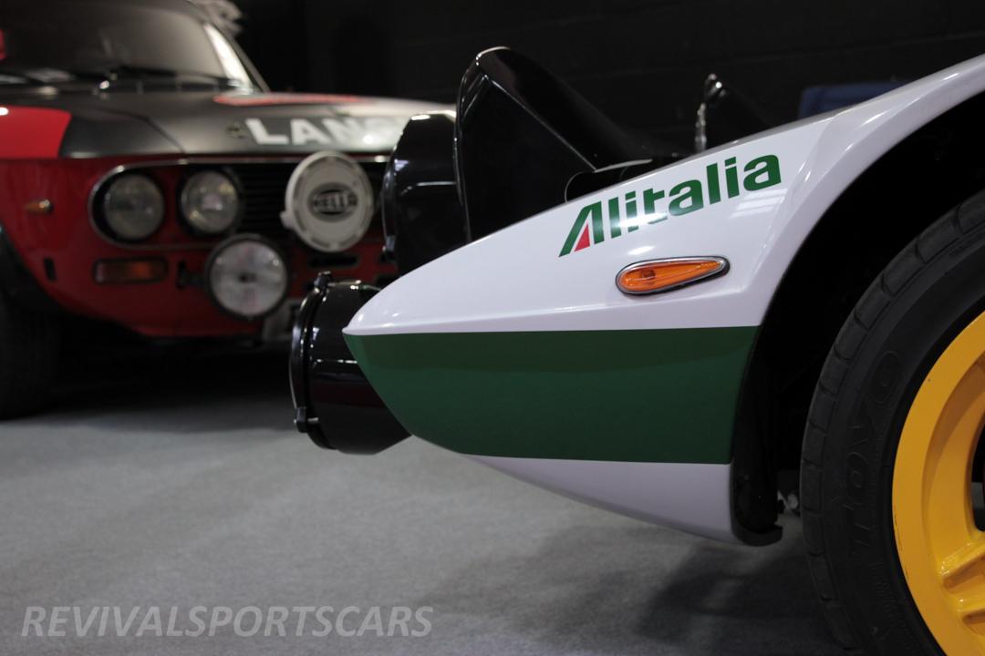 Race Retro 2014 Classic Motorsport Lancia Stratos Race car nose section