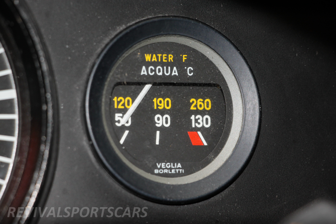 Race Retro 2014 Classic Motorsport Lancia Stratos Race car water temp
