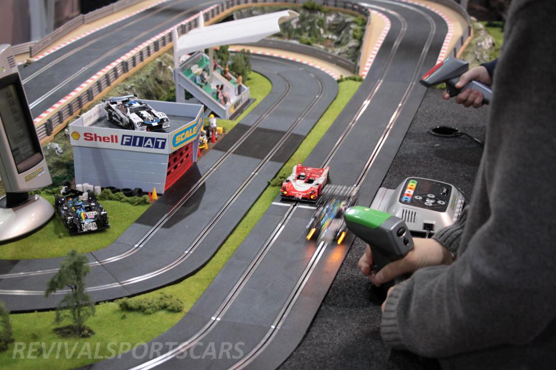 Race Retro 2014 Classic Motorsport Scalextric Track