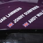 Race Retro 2014 Classic Motorsport TWR Jaguar racer drivers