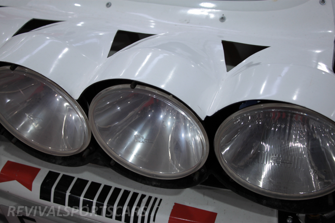 Race Retro 2014 Classic Motorsport Toyota Celica GT4 ST185 rally car malboro front light cluster