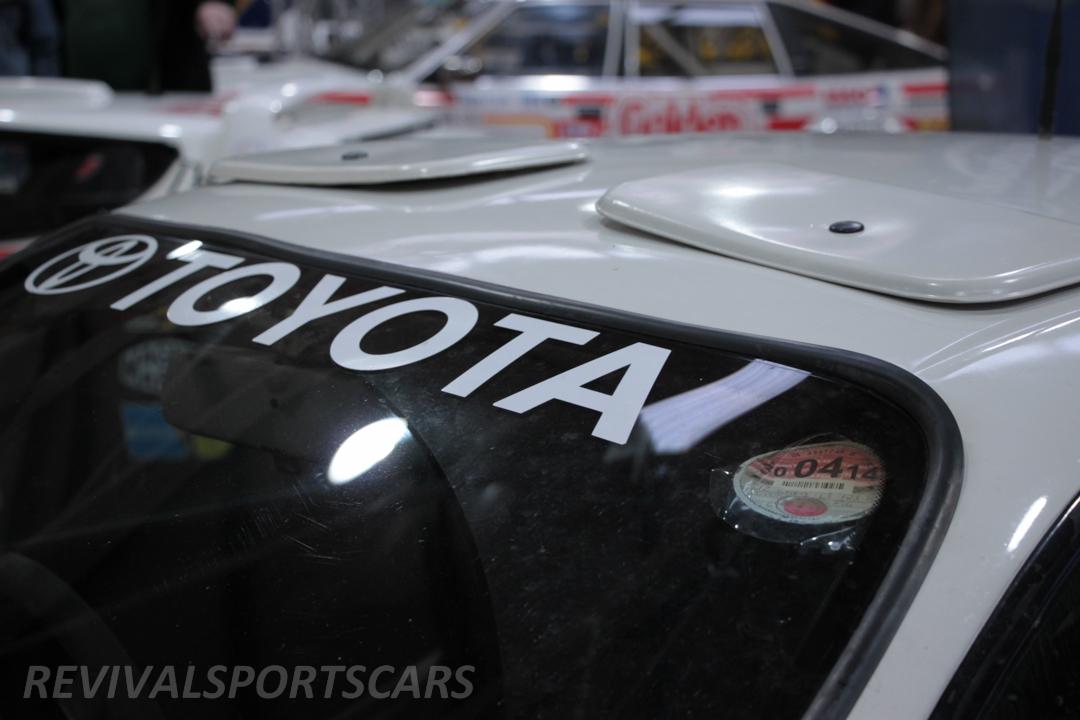Race Retro 2014 Classic Motorsport Toyota Celica GT4 ST185 rally car malboro roof vents
