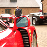 DK Engineering Open Day 2014-13 Ferrari F40