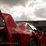 DK Engineering Open Day 2014-7 Ferrari F40