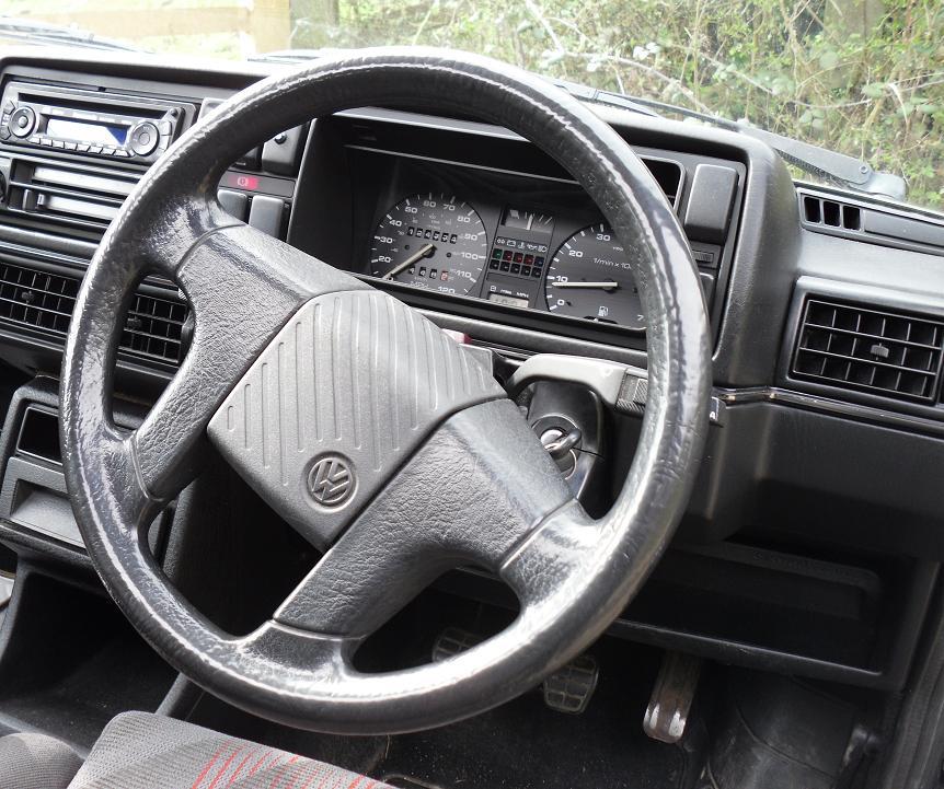 Mk2 Golf GTI Interior Dashboard